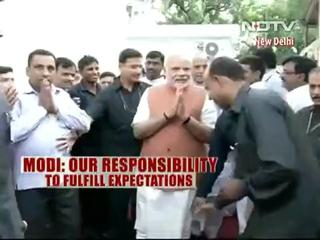 News video: Prime Minister Narendra Modi Meets